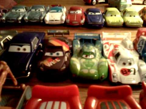 My Disney/pixar cars diecast collection