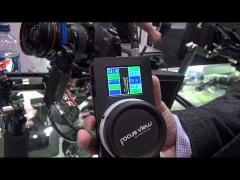 NAB 2012  - Focus View Wireless Follow Focus C