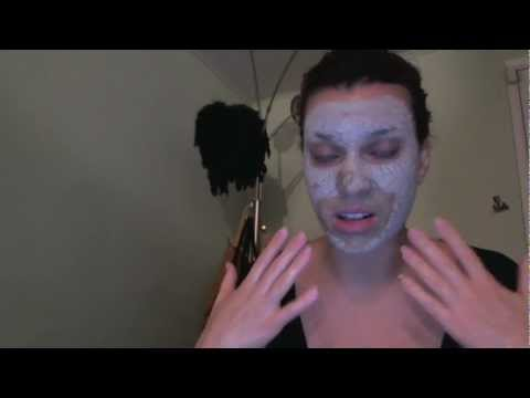 detoxing mask - heals acne cysts pustules blackheads