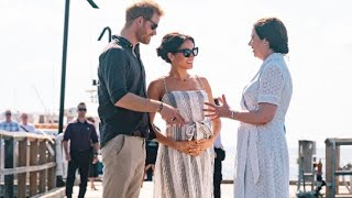 Pregnant & Rested! Meghan Joins Harry For Final Leg Of Fraser Island Visit.