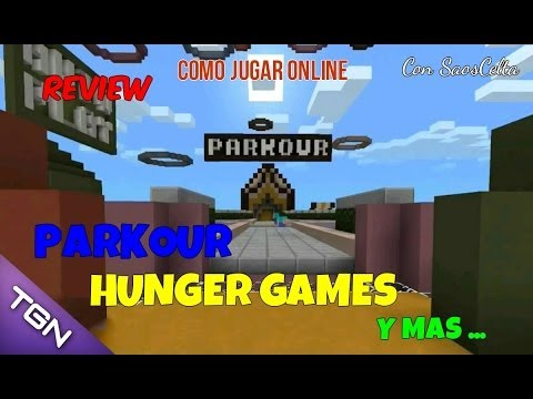 Como Jugar Online En Minecraft PE 0.9.0   Juegos Del Hambre (Server Beta)
