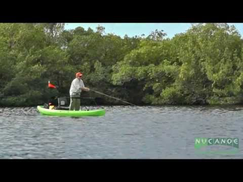 Kayak Fly Fishing in the NuCanoe Frontier 12