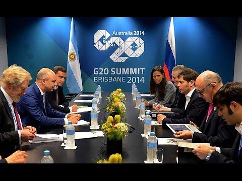 15 de NOV. Axel Kicillof mantuvo audiencias con Zhu Zhixin y Anton Siluanov. Cumbre del G-20.