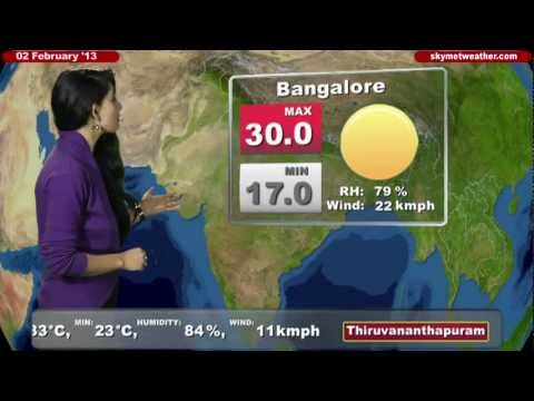 Skymet Weather Report - India February 02, 2013