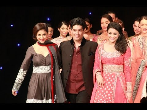 Manish Malhotra Unveiling his 2013 Collection in London