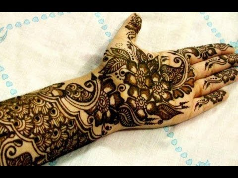 How To Make Henna Designs Indian Pakistani Henna Designs Mehandi Designs For Full Hands video