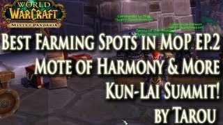Best Farming in MoP EP. 2: Mote of Harmony & Plundering Treasure w/ Potion of Luck - Worth it?