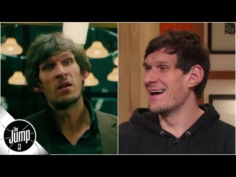 Boban Marjanovic debuts 'John Wick 3' clip, says NBA 'has good actors' due to flopping | The Jump