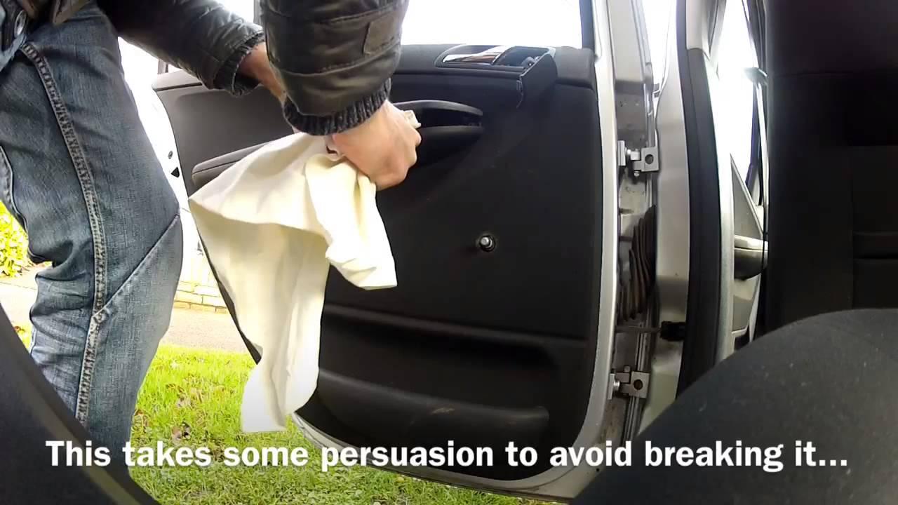 Skoda Fabia Rear Door Leak Repair Youtube