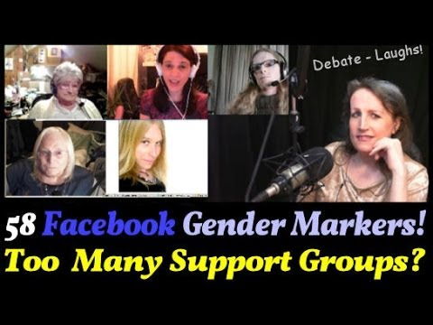 Transgender Zone VLOG Episode #41 Feb 17th, 2014 - Facebook Gender Markers! Too Many Support Groups?