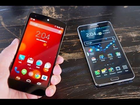 Nexus 5 vs Note 3