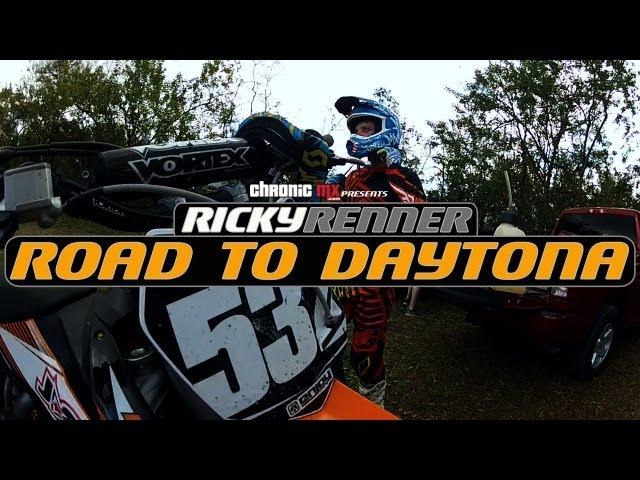 Chronic MX | Road to Daytona - Ricky Renner Ep01