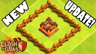 "Clash of Clans - NEW UPDATE! ""FIRST EVER ATTACK ON NEW MAXED BASE!"" New Update Walls & Features!"
