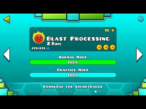BLAST PROCESSING 2.1 REMAKE VER | Geometry Dash 2.1 : Blast 2017 - Nashii