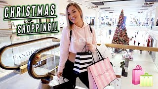 first christmas shopping adventure of the year!! vlogmas day 2