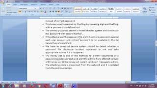 Achieving Flatness Selecting the Honeywords