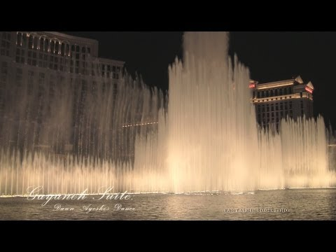 gayaneh Suite | Bellagio Fountains 2013 | Full 1080p Hd video