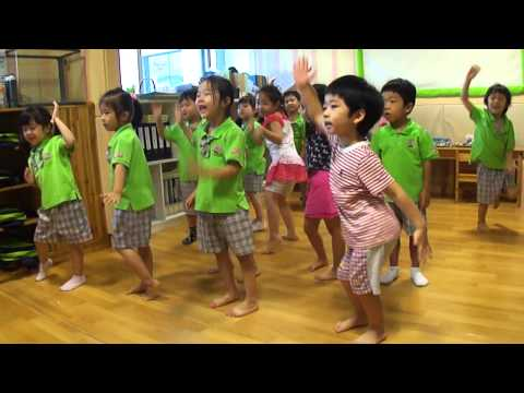 Kindergarten Waka Waka Dance video