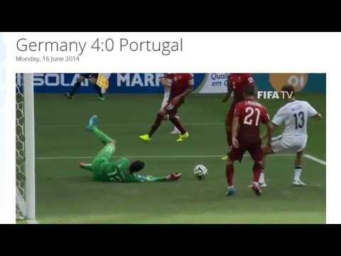 Germany 4-0 Portugal All Goals & Highlights HD ( FIFA World Cup Brasil 2014)