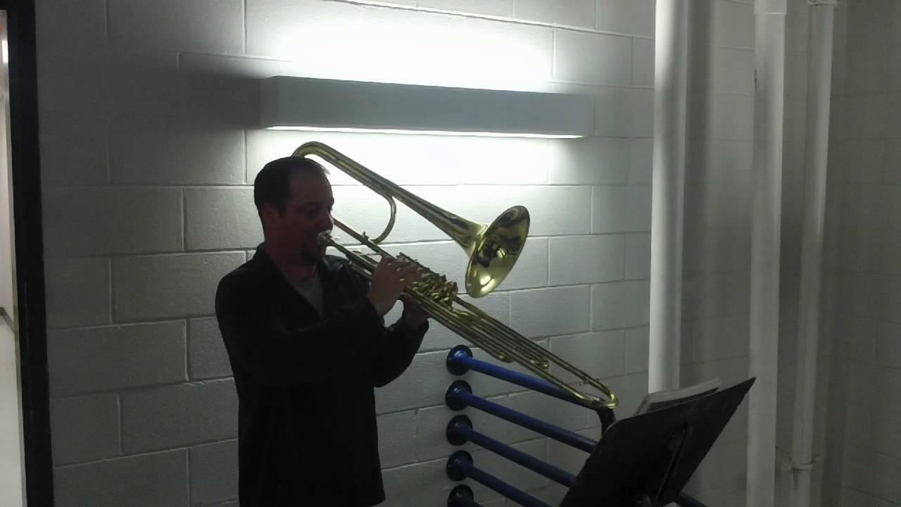 Contrabass Trombone vs Tuba Cerveny Contrabass Trombone 4