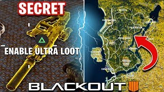 HOW TO LOOT FASTER + BEST CIRCLE MAP ROTATION IN COD BLACKOUT BO4   Advanced Tips And Tricks