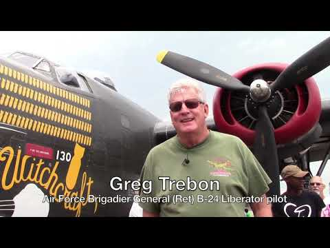 The Wings of Freedom Tour touched down at the Chautauqua County / Jamestown Airport In August 2017.