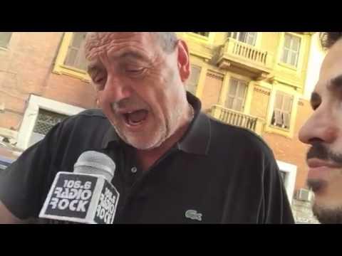 Gianfranco Vissani canta Adriano Celentano al Karaoke Rock Bike di Radio Rock
