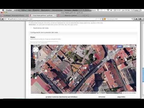 Connectar a Guifi.net - Pas 1 - Com crear un node a guifi.net