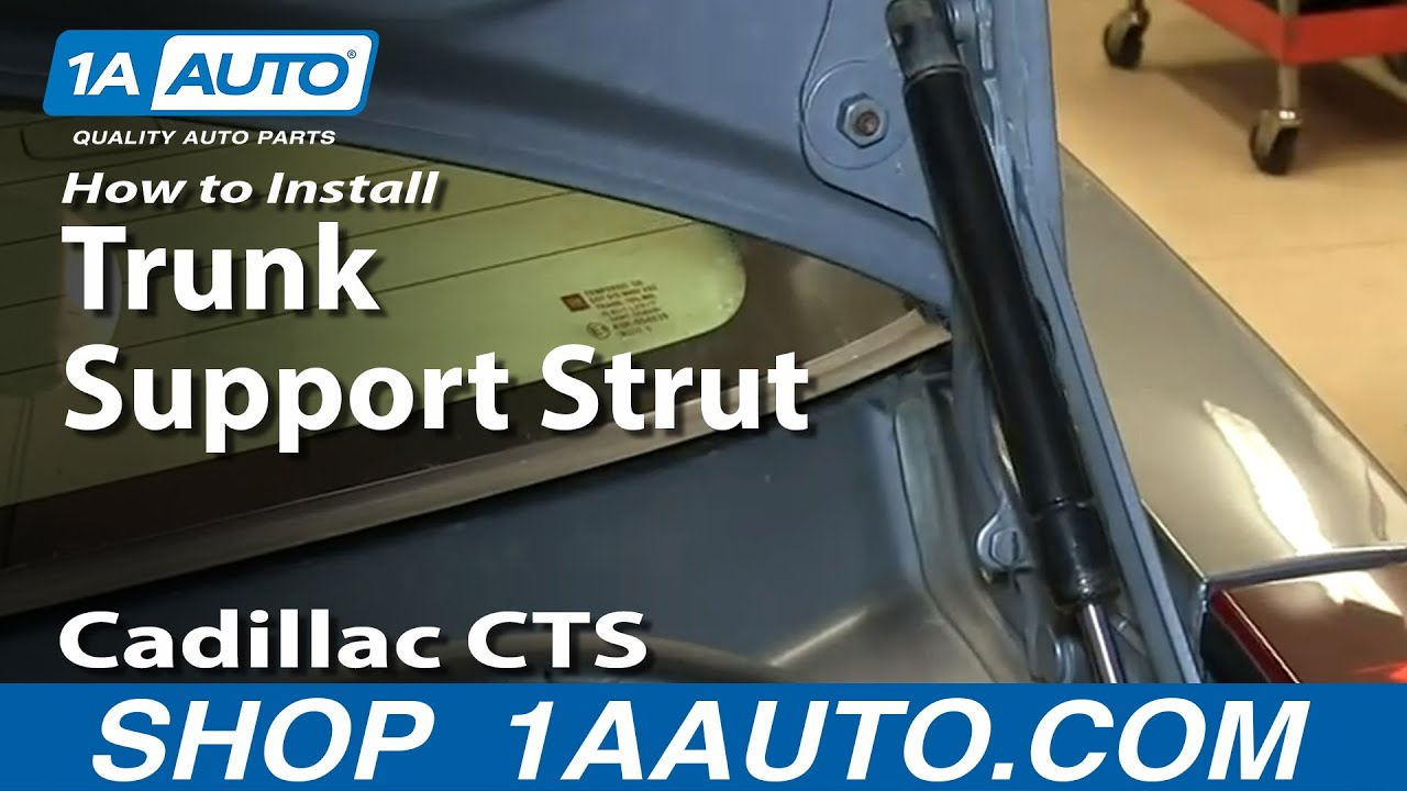How To Install Replace Sagging Trunk Lid Lift Support
