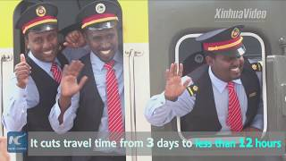 From 3 days to 12 hours! China-built railway cut Ethiopia-Djibouti travel time