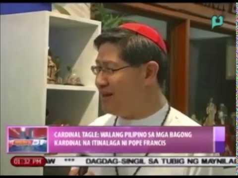 Cardinal Tagle: Walang Pilipino sa mga bagong kardinal na itinalaga ni Pope Francis