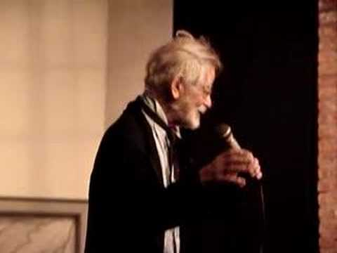 Prof. Irwin Corey at the Prop Theater Video