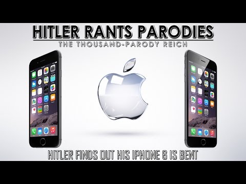 Hitler finds out his iPhone 6 is bent