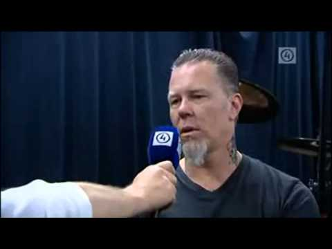 James Hetfield funny moments