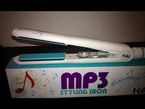 Hai Professional Flat Iron - MP3 installed