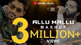 2018 NEW MALAYALAM MASHUP - NAJMU JALSA - ALLU ARJUN FILM SONGS - ALLU MALLU - SIA - CHEAP THRILLS