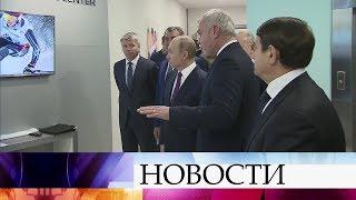 Владимир Путин осмотрел объекты в Красноярске, где пройдут матчи Универсиады-2019.