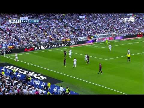 Real Madrid - FC Barcelona FULL MATCH 25.10.14 ( 1 połowa)