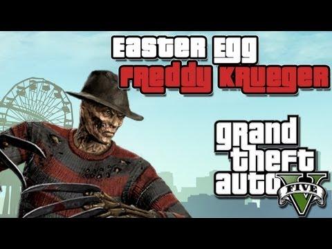 Gta v Freddy Krueger Easter Egg Gta v Freddy Krueger