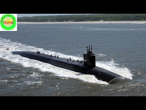 10 biggest submarines in the world
