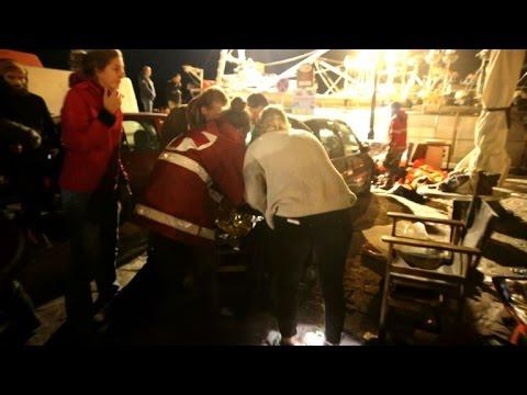 Migrant boats sink off Turkish coast