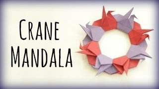 How To Make A Crane Mandala (tsuru Ring)