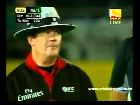 daniel vettori vs shane watson brilliant over.mp4