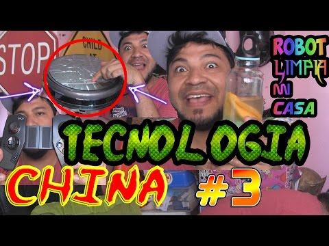 TECNOLOGÍA CHINA #3 | ROBOT QUE LIMPIA LA CASA  Y CONTROL PARA NIÑOS RATA!
