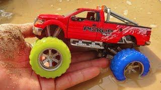 Người nhện đi tìm xe ô tô dưới đất - đồ chơi trẻ em G191P Car Toys Kid
