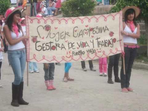 desfile de la Mujer Municipio de San Bernardo Nariño.wmv