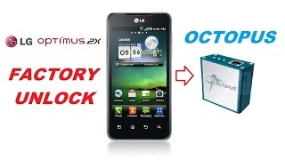 Unlock LG 2x by Octopus box & MICRO USB Cable