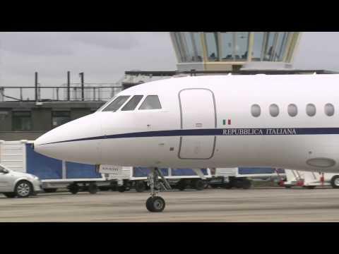 G8 Summit: Italian Prime Minister Enrico Letta arrives