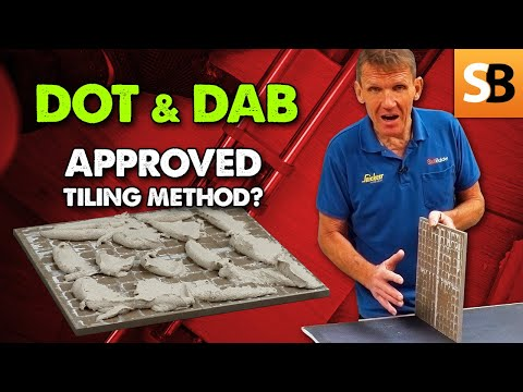 Is Dot and Dab BS approved for Wall Tiling?