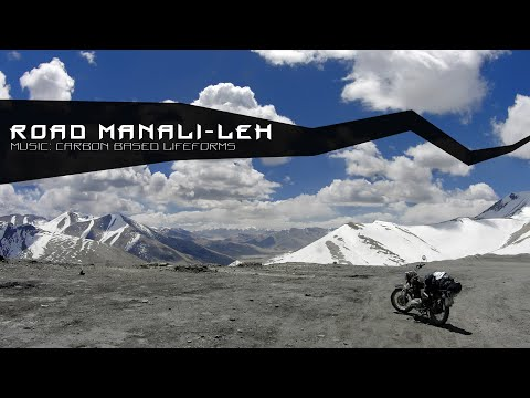 Road Manali - Leh (Moto trip to Ladakh, India)